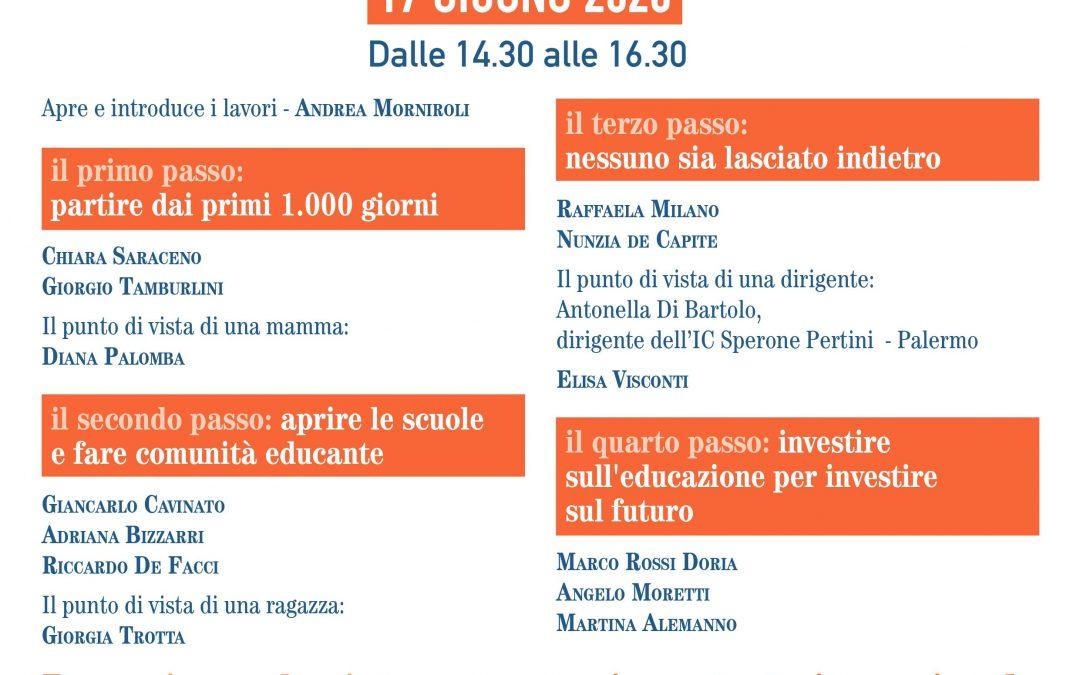Infanzia e adolescenza: nove reti della società civile scrivono a Conte, urge un piano strategico nazionale e al sistema dell'educazione il 15% degli investimenti previsti per la ripresa